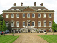 Edgcote House, Northamptonshire (Image: Bacab) - threatened by the initial London-Birmingham plan with a serious visual impact, the route was moved in the final announcement