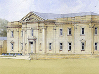 Grafton New Hall, Cheshire (Image: Robert Adam Architects)
