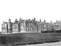 Bradgate House, Leicestershire - dem. 1925 (Image: Lost Heritage)