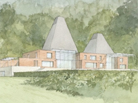 Proposed Alderbrook Park, Surrey (Image: PRS Architects)