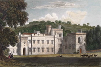 "Kentchurch Court from ""Views of the Seats, Mansions, Castles, etc. of Noblemen and Gentlemen"" (London : 1829-1831)"