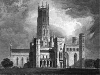 Fonthill Abbey, Wiltshire (Image: John Rutter (1823) / RIBA)