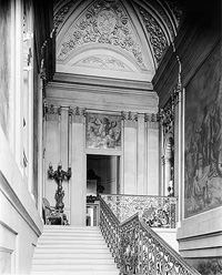 Staircase, Easton Neston (Image: English Heritage / NMR)