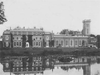 Didlington Hall, Norfolk - demolished 1950/52 (Image: Lost Heritage)