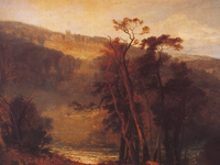 'Lowther Castle, Westmorland, Seen from a Distance by 'Day' in 1810' - J.M.W. Turner
