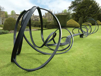 'Huge Sudeley Bench' by Pablo Reinoso at Sudeley Castle (Image: Christies)