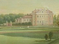'A view of Park Place, Henley' - artist unknown - c.1742-3 (Image: Royal Collection) - click to see full image