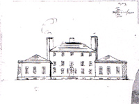 Proposed design for Allanbank, Berwickshire by Sir John Soane (Image: Sir John Soane Museum)
