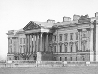 Hamilton Palace, Lanarkshire, Scotland - demolished 1919 (Image: Wikipedia) - more info from Virtual Reconstruction website