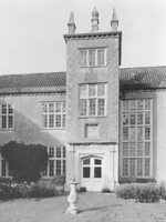 Main entrance - Fairfield House, Somerset (Image: Anthony Kersting)