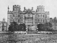 Methley Hall, Yorkshire - demolished 1963 (Image: Lost Heritage)