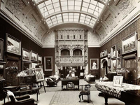 Picture gallery, Dawpool, Cheshire (Image: H Bedford Lemere, Bedford Lemere & Co / copyright: English Heritage/NMR)