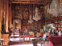 Long Library, Eastnor Castle, Herefordshire (Image: Eastnor Castle)