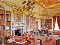 Long Library, Holkham Hall, Norfolk (Image: Holkham Hall)