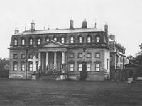 Garendon Hall, Leicestershire - dem. 1964 (Image: Matthew Beckett / Lost Heritage)
