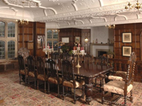 Dining Room - Chapel Cleeve Manor, Somerset (Image: Webbers)