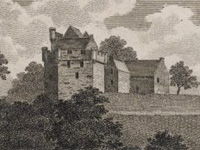 Craufurdland Castle before 19thC alterations (Image: RCAHMS)
