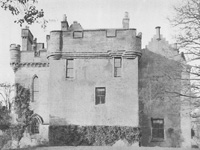 Old tower, Craufurdland Castle (Image: 'Famous Scottish Houses - The Lowlands' by T. Hannan)