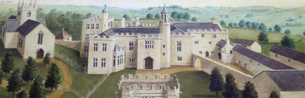 Shute House, Axminster c18th-century (Image: Charmouth history website)