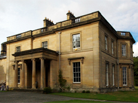 Entrance front, Meldon Park (Image: lawrencecornell via flickr)