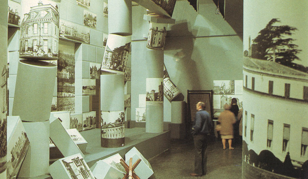 Hall of Lost Houses, from the 1974 Destruction of the Country House exhibition at the V&A