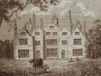Winstanley Hall, Lancashire - print