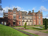 Keele Hall, Staffordshire - now Keele University (Image: simon3k via flickr)
