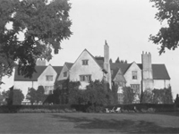 Papillon Hall, Leicestershire - demolished 1950 (Image: Lost Heritage)