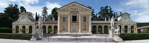 Villa Barbaro, Italy (Image: Marcok via Wikipedia)