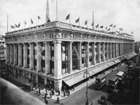 Selfridges, 1929, seen from south-west (Image: RIBA Library Photographs Collection)