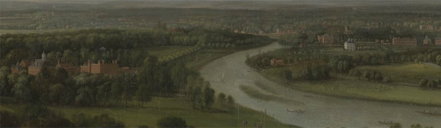 'View of the Thames from Richmond Hill' by Peter Tillemans c.1720-1723 (Image: Government Art Collection)
