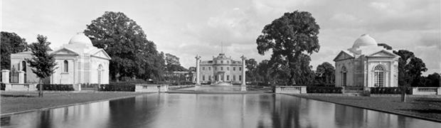 Bathing and Music Pavilions, Tyringham Hall (Image: Country Life Picture Library)