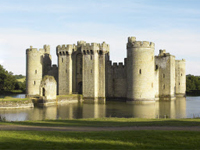 Bodiam Castle, East Sussex (Image: National Trust Images/Matthew Antrobus)