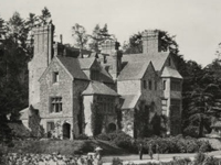 View of the front of the house at Chartwell, Kent, before acquisition by Sir Winston Churchill in 1922 (Image: National Trust)