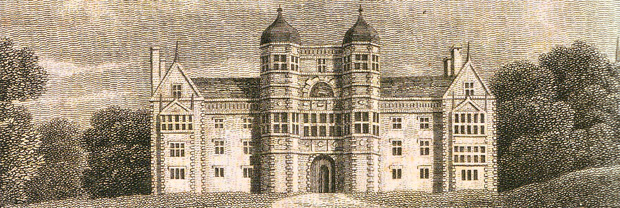 Brereton Hall, Cheshire - 1819 - from George Ormerod's 'History of the County Palatine and the City of Cheshire'