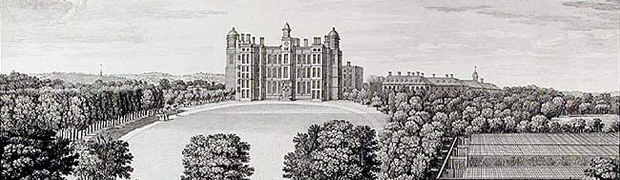 Worksop Manor, Nottinghamshire - burnt down 1761 (Image: Nottinghamshire History)