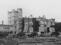 Osmaston Manor, Derbyshire (demolished 1965) (Image: Lost Heritage - England's Demolished Country Houses)