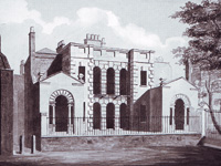 'Goose Pie House', Whitehall - designed by Sir John Vanbrugh 1700 (Image: copyright of The Trustees of Sir John Soane's Museum, London)