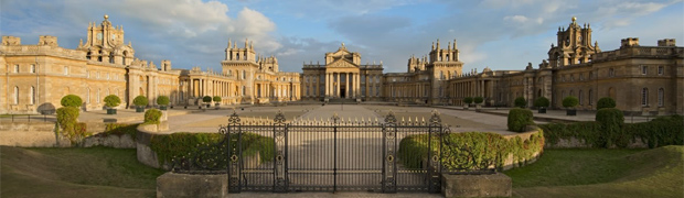 Blenheim Palace, Oxfordshire - entrance front (Image: Blenheim Palace)