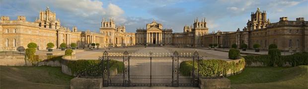 Blenheim Palace, Oxfordshire - entrance front (Image: Blenheim Palace)
