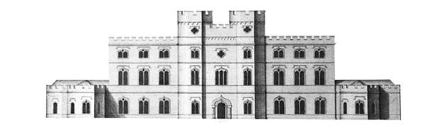Esher Place, Surrey - John Vardy, after William Kent, c1744 (copyright: London Borough of Lambeth)
