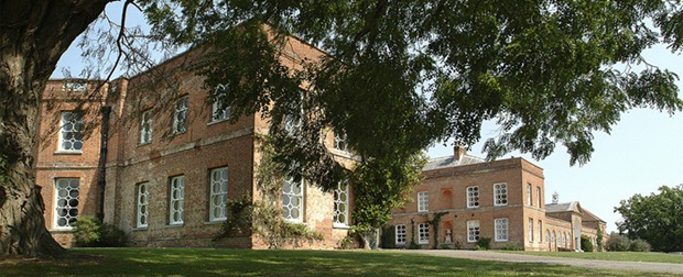 Braxted Park, Essex - note the octagonal window frames (Image: Braxted Park)
