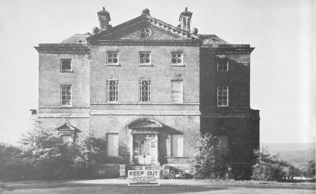 Entrance front, Barlaston Hall, Staffordshire (Image: SAVE Britain's Heritage)