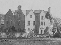 Collapse of Hague Hall, Yorkshire, due to mining subsidence, 1910 (Image: Lost Heritage)