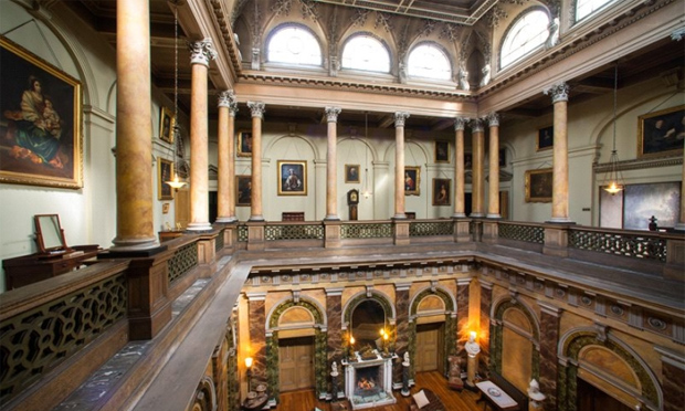Great Hall - Dundarave, Co. Antrim, N. Ireland (Image: Savills)