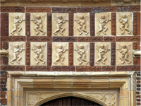 Moulded terracotta designs, Sutton Place (Image: © Country Life Picture Library)
