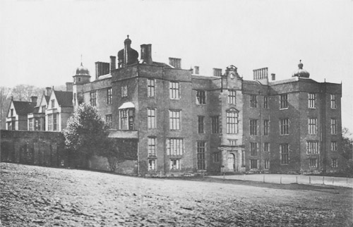 Beaudesert Hall, Staffordshire - demolished 1935 due to demands of heavy taxation (Image: Lost Heritage)