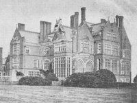 Cloverley Hall, Shropshire - demolished 1950s (Image: Lost Heritage)