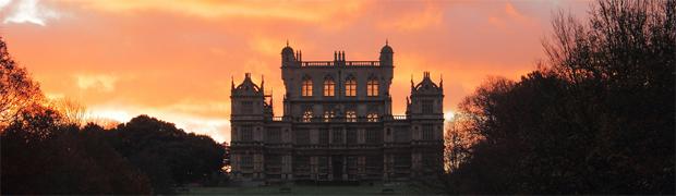 Wollaton Hall, Nottinghamshire - evening sun showing the lantern effect of the design (Image: adamzy via flickr)