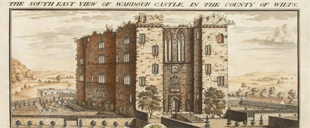 Old Wardour Castle (Image: Old Rare Prints)
